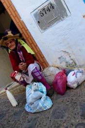An elderly Berber matron.