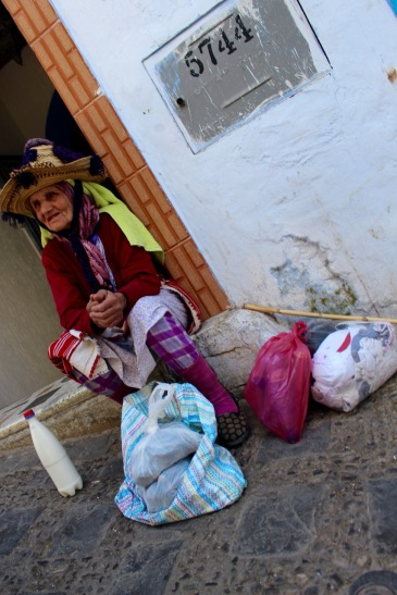 An elderly Berber matron.