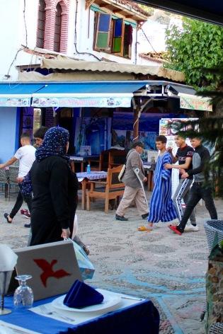 Street scene off the main square.