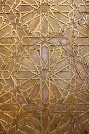 Detail, palace door.