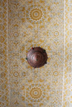 Detail, ceiling.