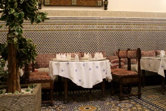Detail, restaurant.