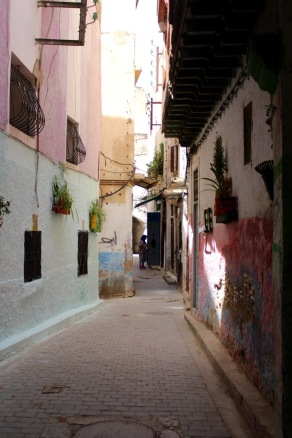 In the old medina.
