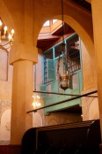 In a restored synagogue.