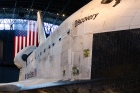 Space shuttle discovery, detail.