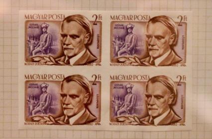 Hungarian stamps honoring Kodaly.