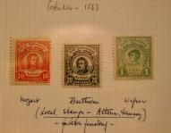Austrian stamps.