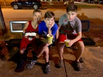 They really were happy about Ted Drewes.